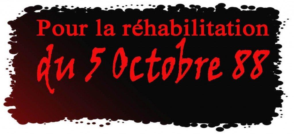 Jil Jadid-Bgayet soutient le Comité de Réhabilitation du 5 Oct 88 dans Analyses 5_oct